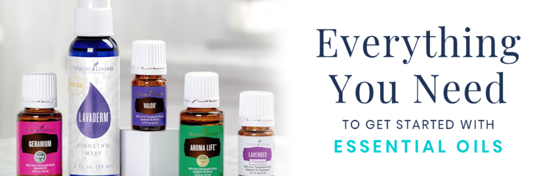 Social media ad for Young Living Essential Oils.