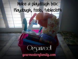 Keeping Playdough moist 003