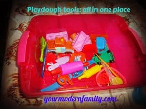 Keeping Play-dough moist 006