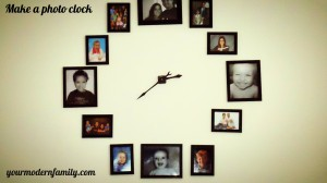 Make a photo clock