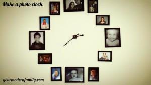 Make a photo clock