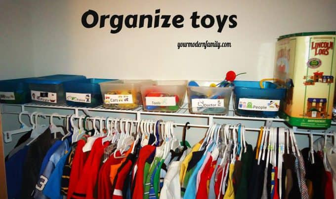 Marvelous Organized Kids Room