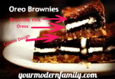 brownies with layers!