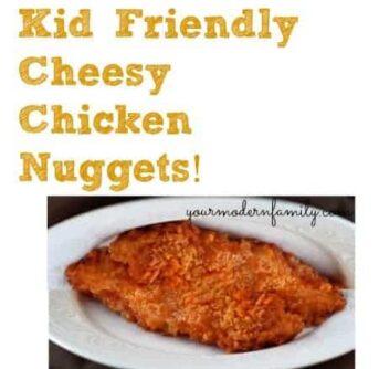 cheesy chicken nuggets