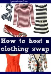 host a clothing swap