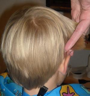 how to cut long boy hair