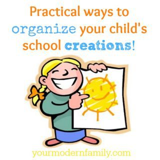 Organizing your child's work