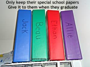 organizing school work 001