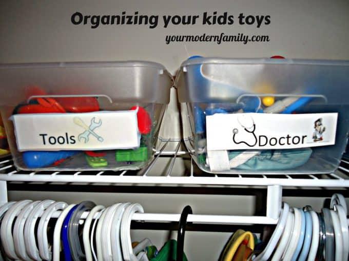organizing your kids toys