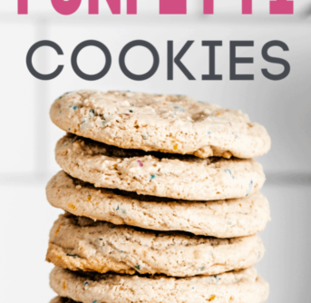 3 ingredient funfetti cookies