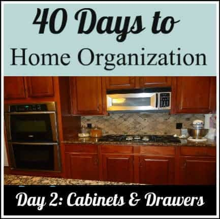 Organizing your cabinets and drawers Organizing kitchen cabinets and drawers