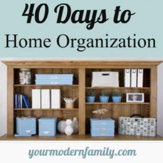 40 days of Organization