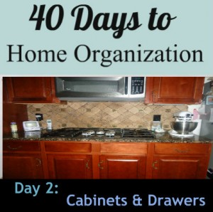 40 days to home organization day 2