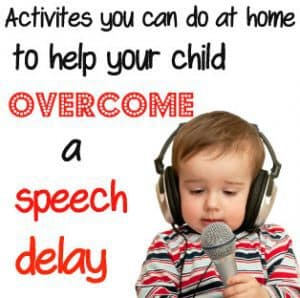 Activites for speech delay