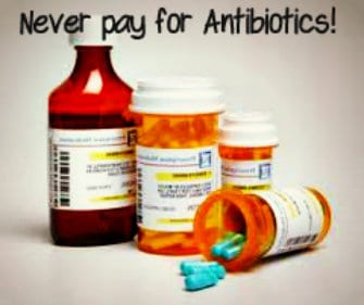 Get antibitotics for free