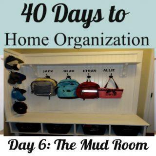 Day 6 & 7: The Mudroom: Make a Mudroom Bench
