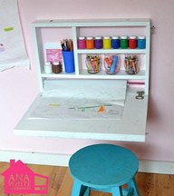 Organizing kids art supplies 1