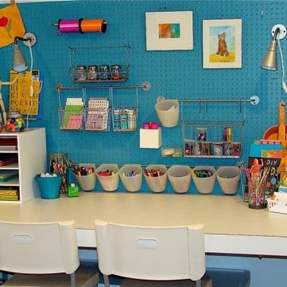 Organizing kids art supplies 6