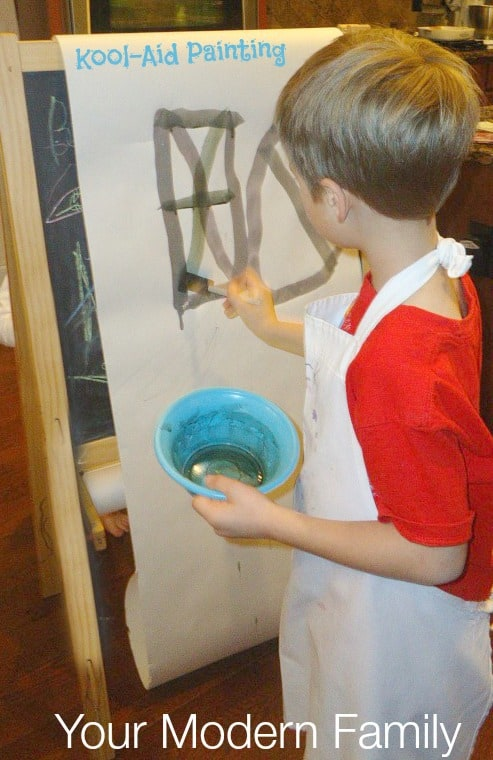 kool-aid painting