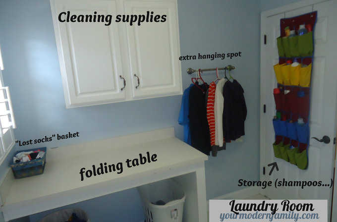 Well-liked laundry room folding table - Your Modern Family BZ51