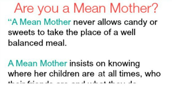 I Hate My Mom Poem: Are You A Mean Mother