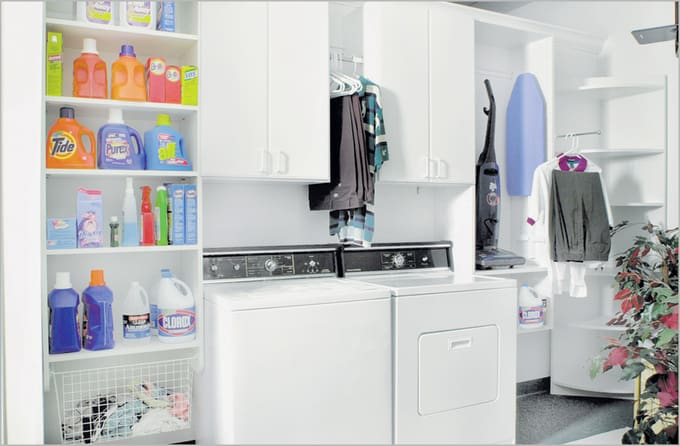small-Laundry-ideas-room - Your Modern Family