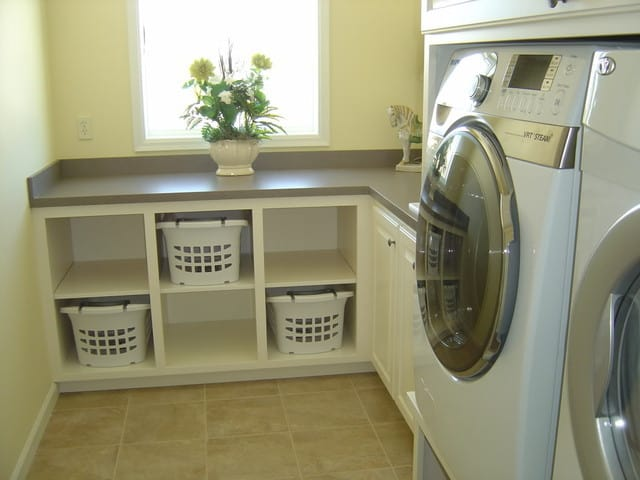 small-cabinet-for-laundry-basket-in-modern-laundry-room - your Laundry Basket Cabinet