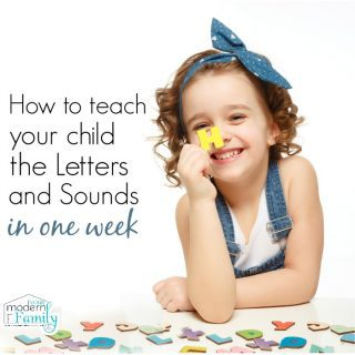Learn letters and sounds in a week