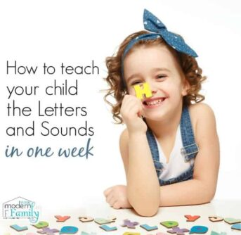 teaching letters in one week