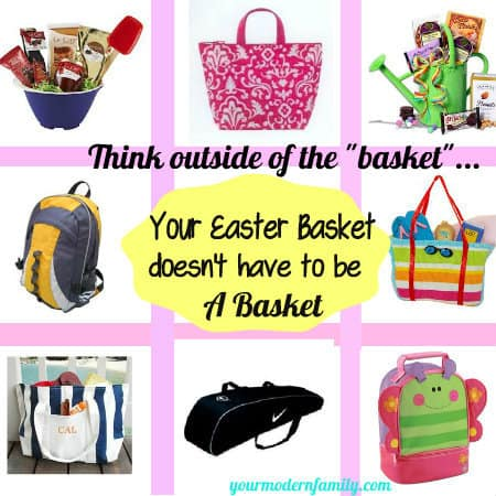Sign the different kinds of Easter baskets.