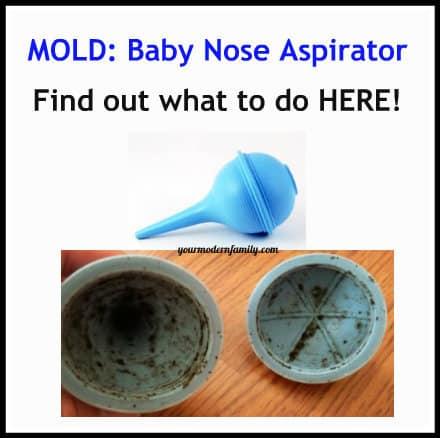 Mold in nasal aspirator
