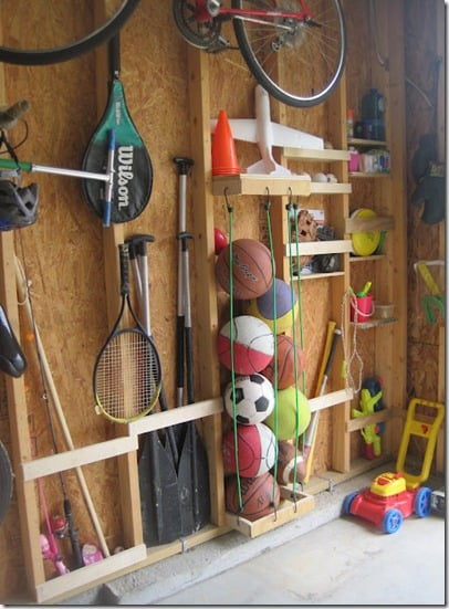 Organizing outdoor toys 3