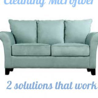 Day 33: Cleaning microfiber