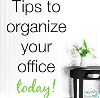 tips to organize your office today.