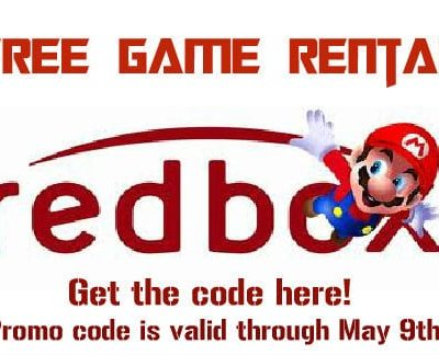 Free Redbox Game Rental Code 2013