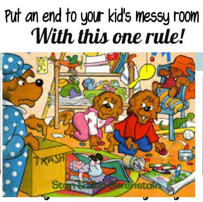 Teaching your child to keep their room clean