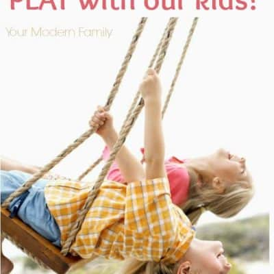 Why we need to be playing with our kids!