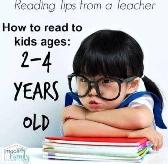 reading tips for preschoolers