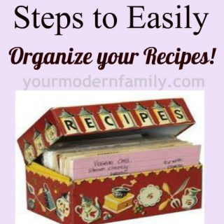 Day 35: Organize recipes