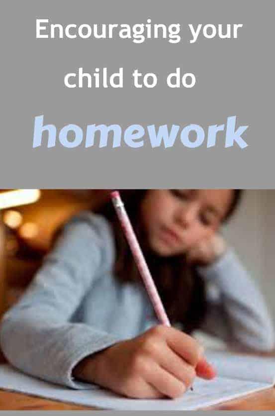 encouraging kids to do homework