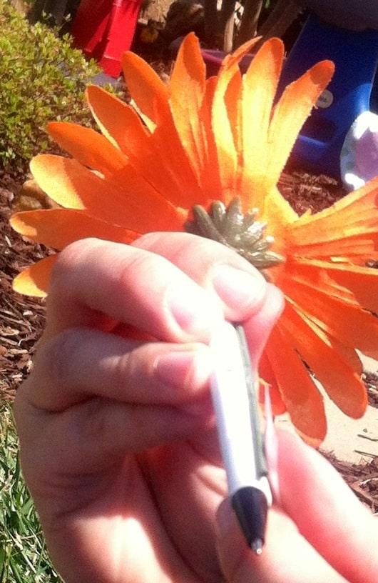 flower pen