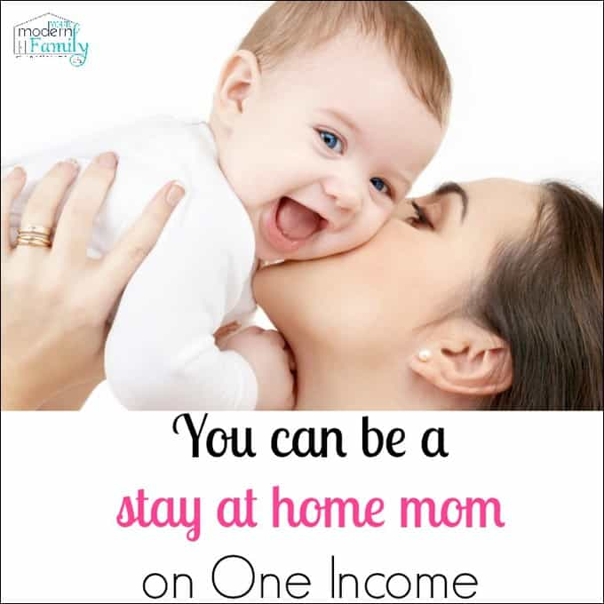 stay at home mom one income