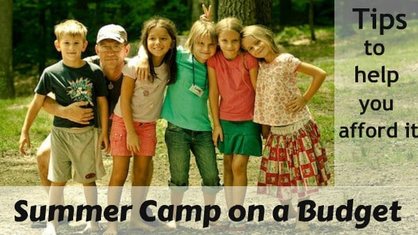 summer camp on a budget