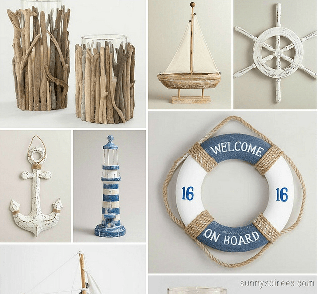 Weekend pinterest pin it party for Beach house decor items