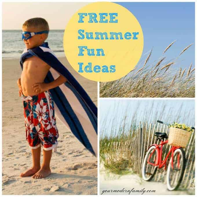 free summer kid ideas