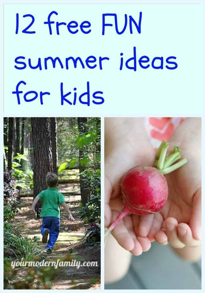 free summer ideas for kids 1