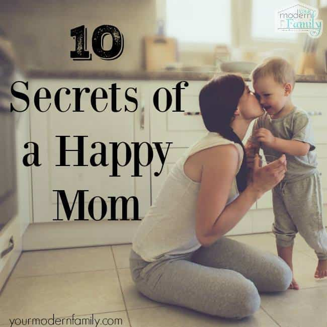 secrets of a happy mom