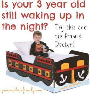3 year old waking up at night