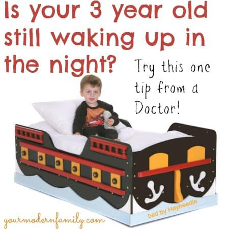 3 year old waking up at night