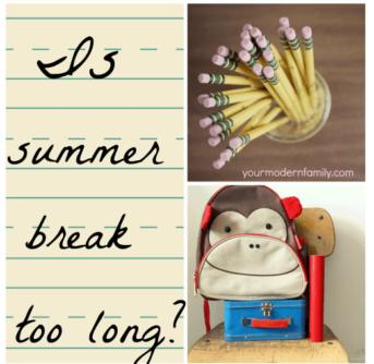summer break for kids